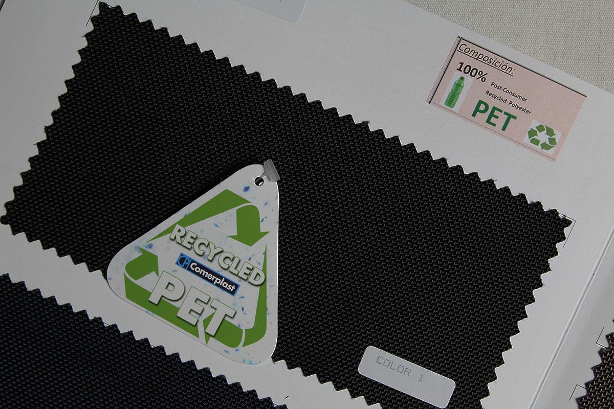 Tejido reciclado